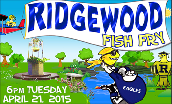 Ridgewood Prep School Fish Fry, Tuesday, April 21, 2015 at 6pm